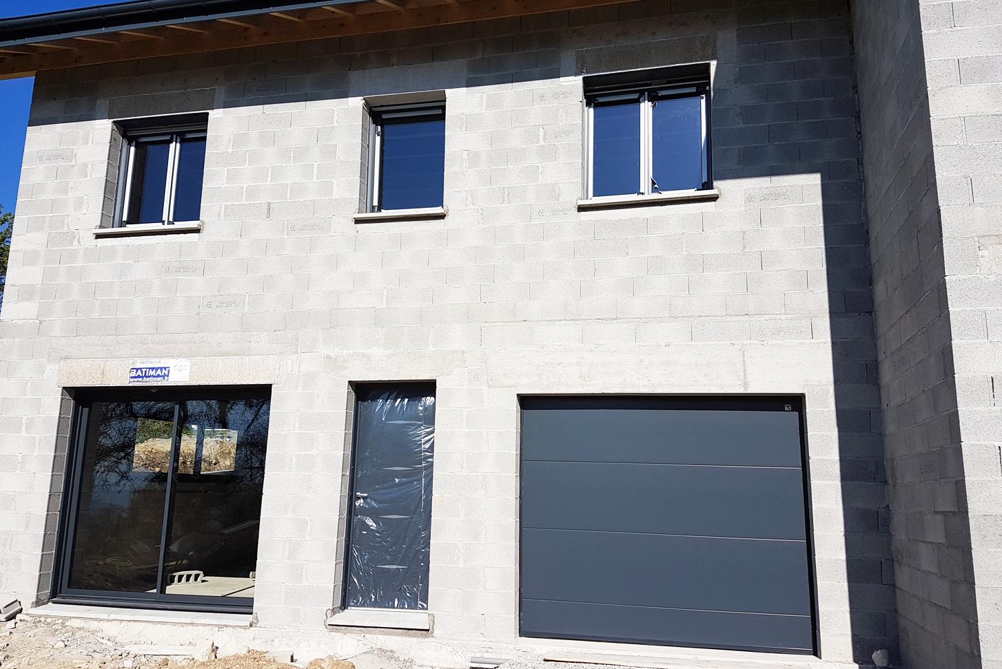 Realisation Mmconcept Menuiserie Porte Fenetre Garage